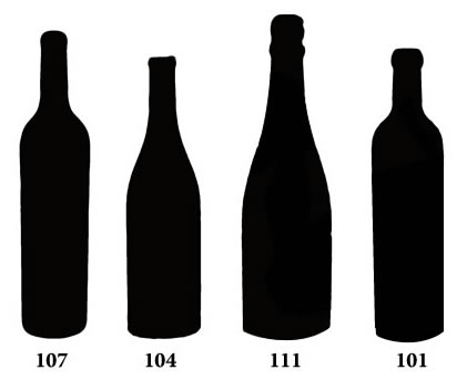 Common Bottle Shapes